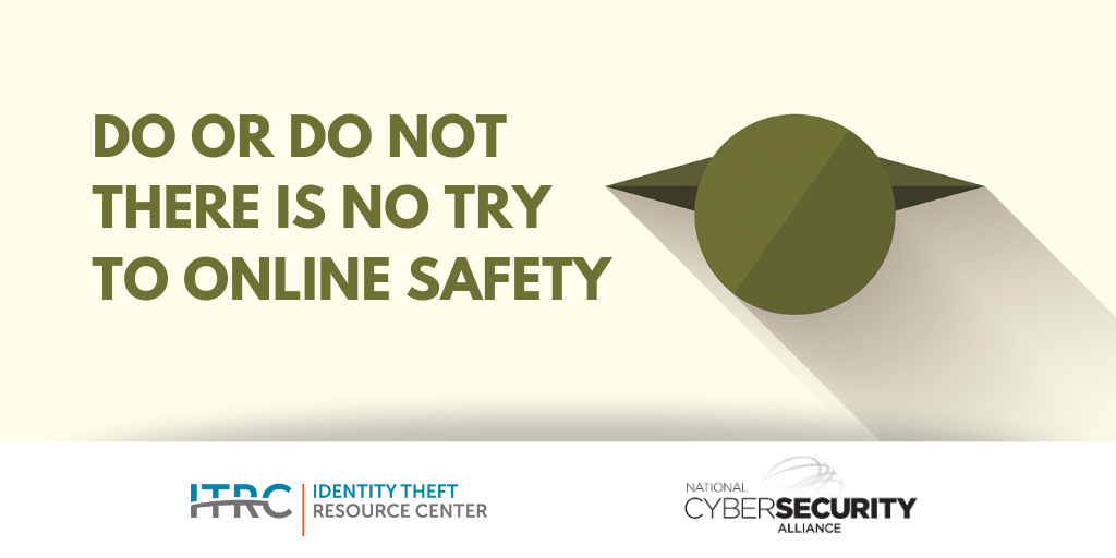 national cybersecurity alliance Archives - Identity Theft Resource