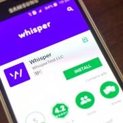 whisper app accidental overexposure