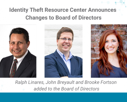 Ralph Linares, John Breyault and Brooke Fortson added to the Board of Directors