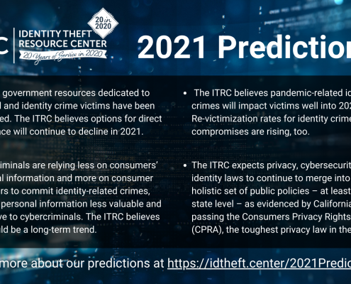 ITRC 2021 Predictions
