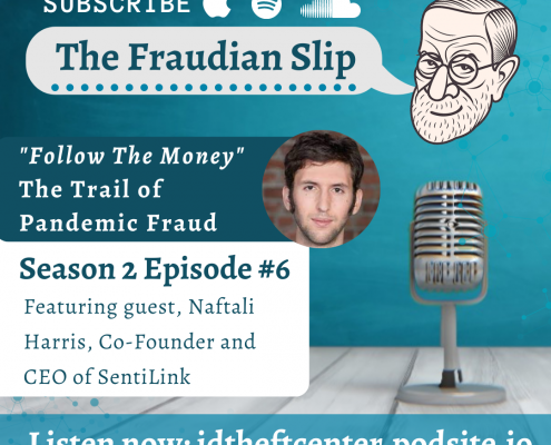 ITRC Fraudian Slip Podcast featuring guest SentiLink