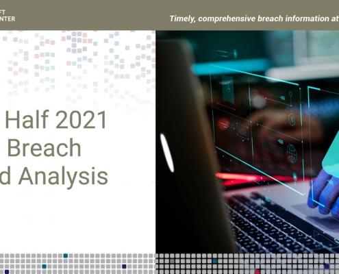 ITRC First Half 2021 Data Breach Analysis Cover