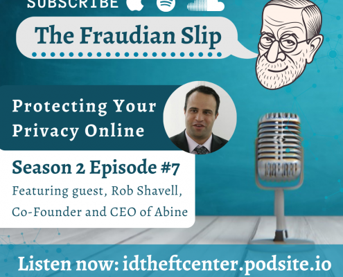 ITRC Fraudian Slip Podcast with guest Abine