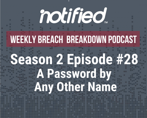 The Weekly Breach Breakdown Podcast by ITRC - A Password By Any Other Name Cover
